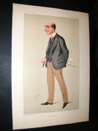 Vanity Fair Print 1890 Arthur Wing Pinero, Theatre